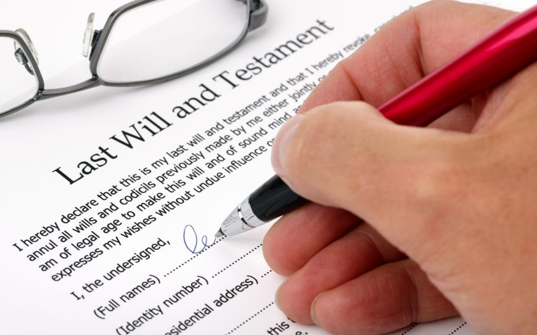 How not to execute a Will