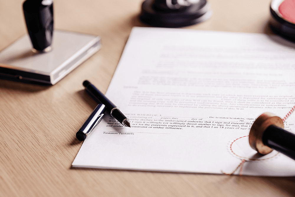 How do you know if someone has made a Will?